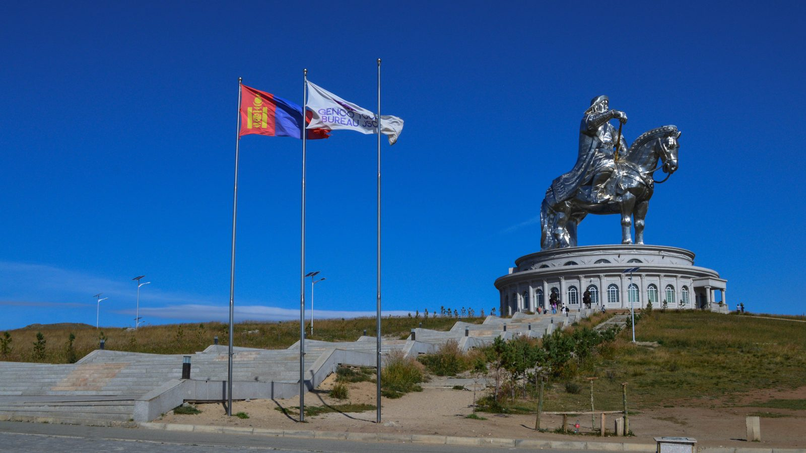 Giant Genghis Monument
