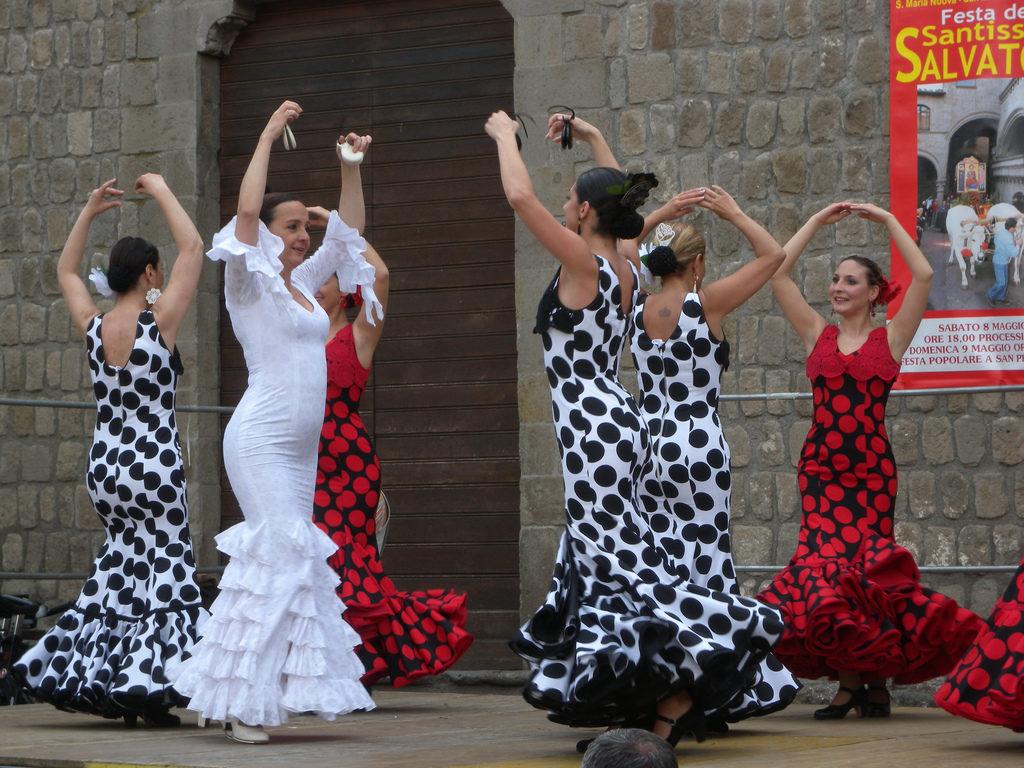 ballerine flamenco 1