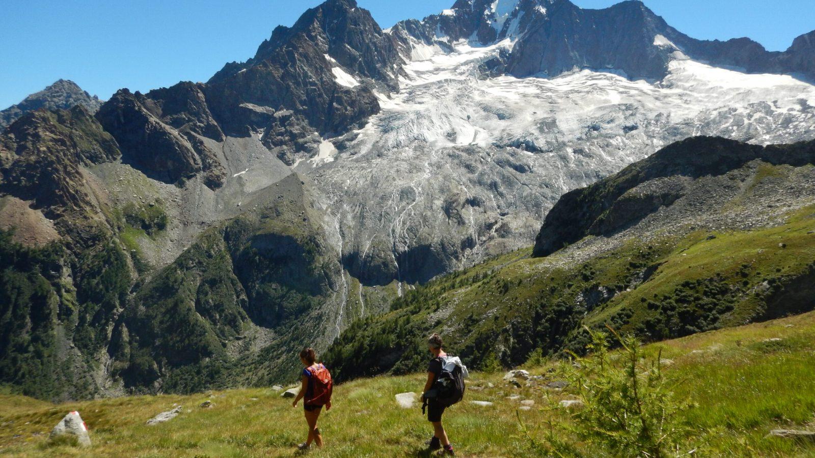 Alpe Sissonecon Monte Disgrazia.